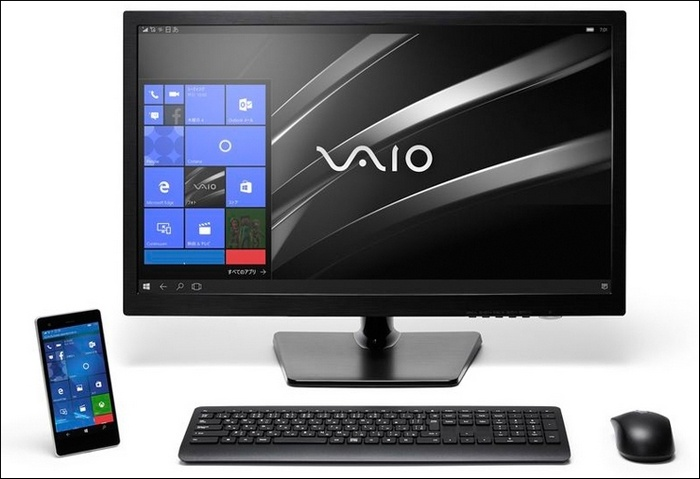 Смартфон VAIO Phone Biz с Windows 10 Mobile нацелен на бизнес-аудиторию - 2