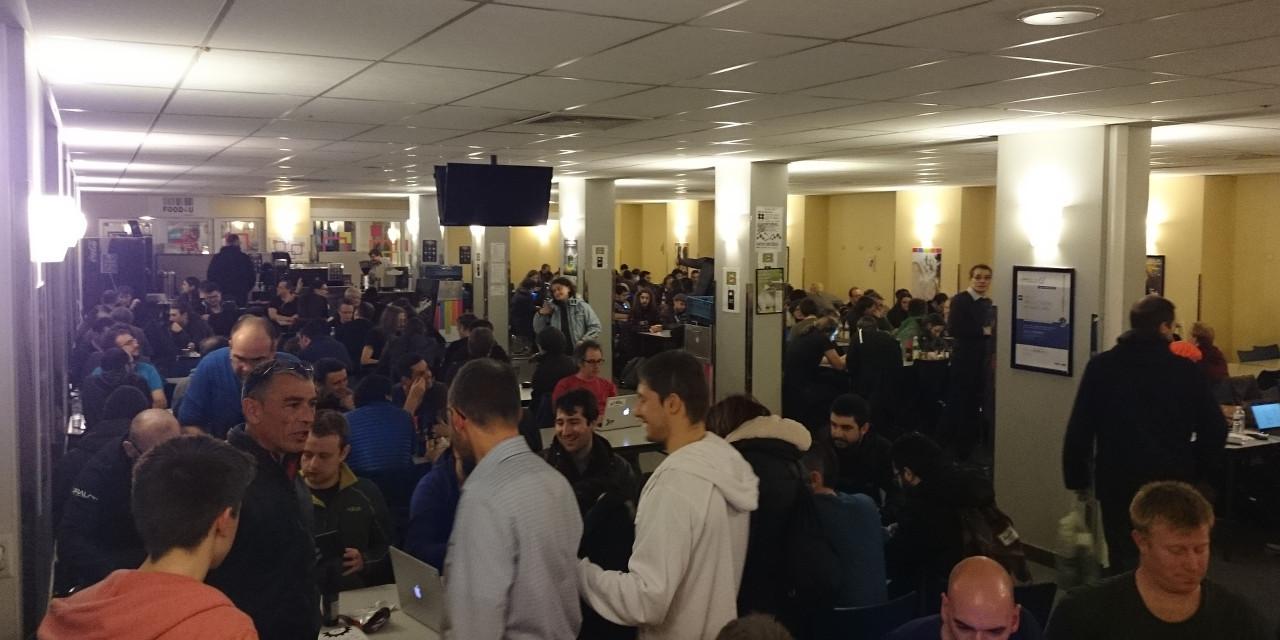 Вафли против технологий на FOSDEM 2016 - 17