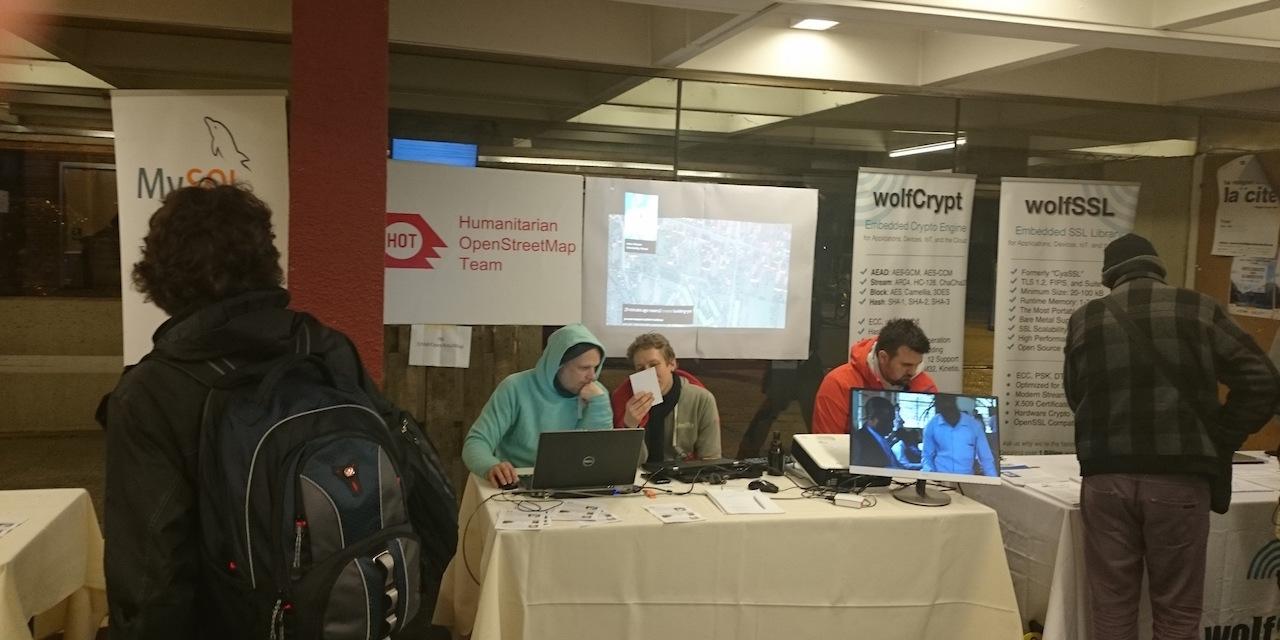 Вафли против технологий на FOSDEM 2016 - 19