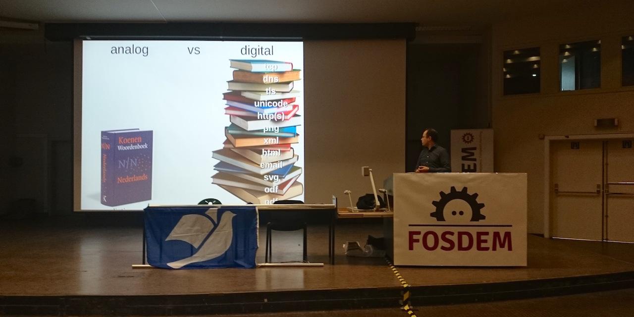 Вафли против технологий на FOSDEM 2016 - 27