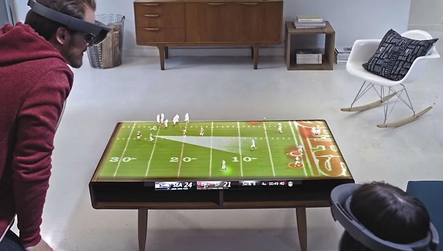 7 февраля Microsoft продемонстрирует возможности HoloLens в финале Super Bowl 50 - 2