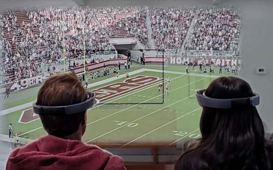 7 февраля Microsoft продемонстрирует возможности HoloLens в финале Super Bowl 50 - 4