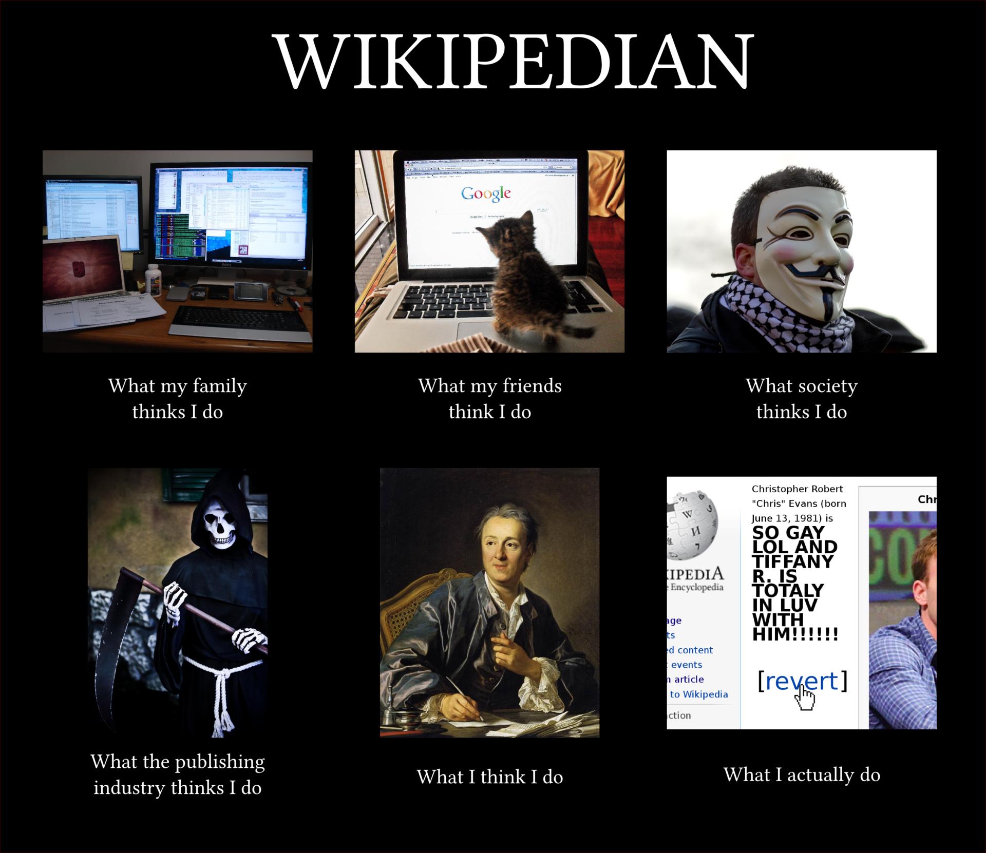 5 утверждений о Википедии, которые приводят в бешенство эмоционального википедиста - 1