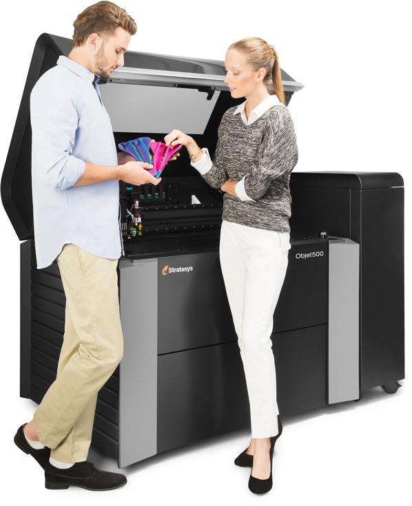 Stratasys покажет 3D-принтер Objet Connex3 на мероприятии SolidWorks World 2016