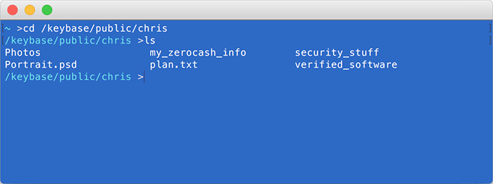 Шифрованная файловая система Keybase: первая альфа-версия - 1