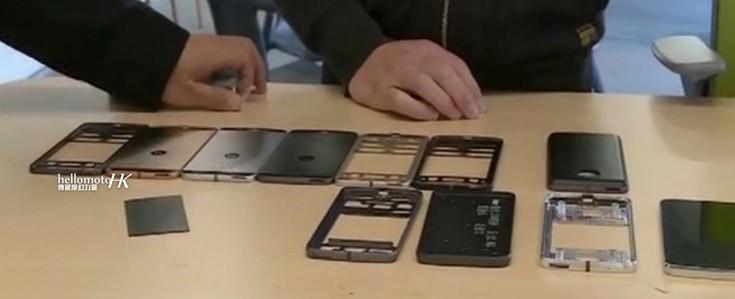 Появились фото прототипов новых смартфонов Lenovo Moto