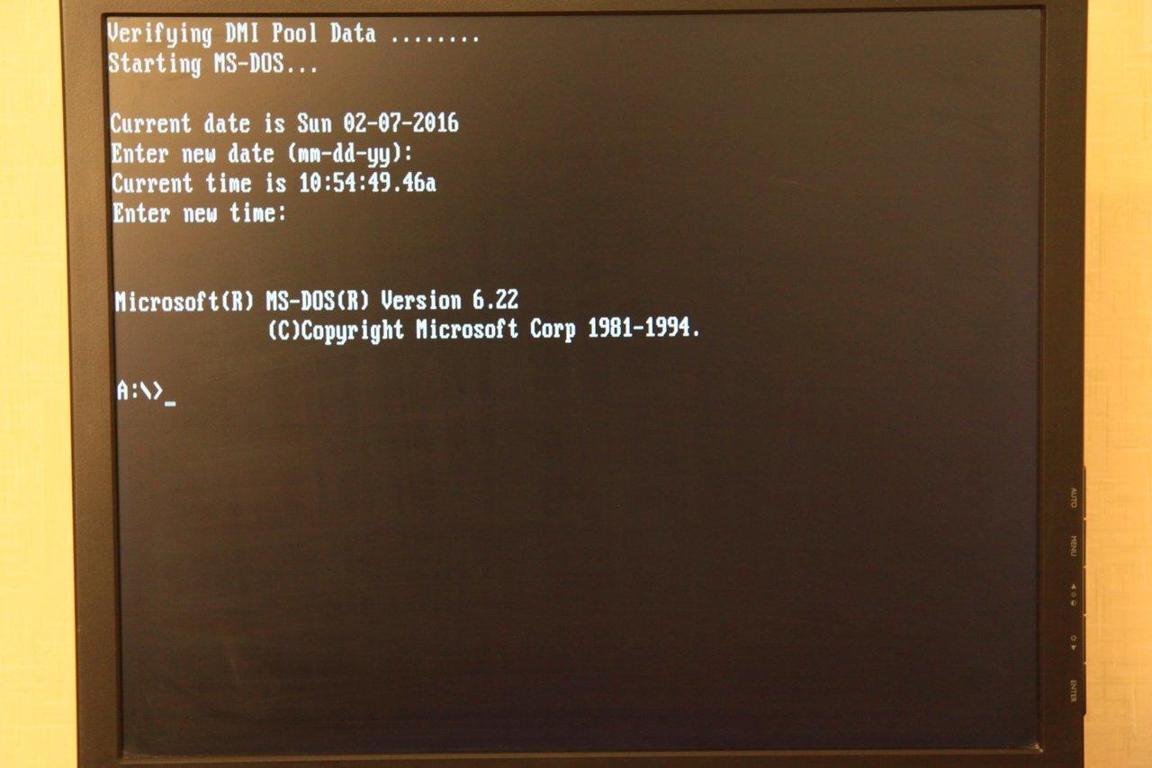 Запускаем DOS игры на тонком клиенте HP Compaq t5520 2006 года выпуска - 18