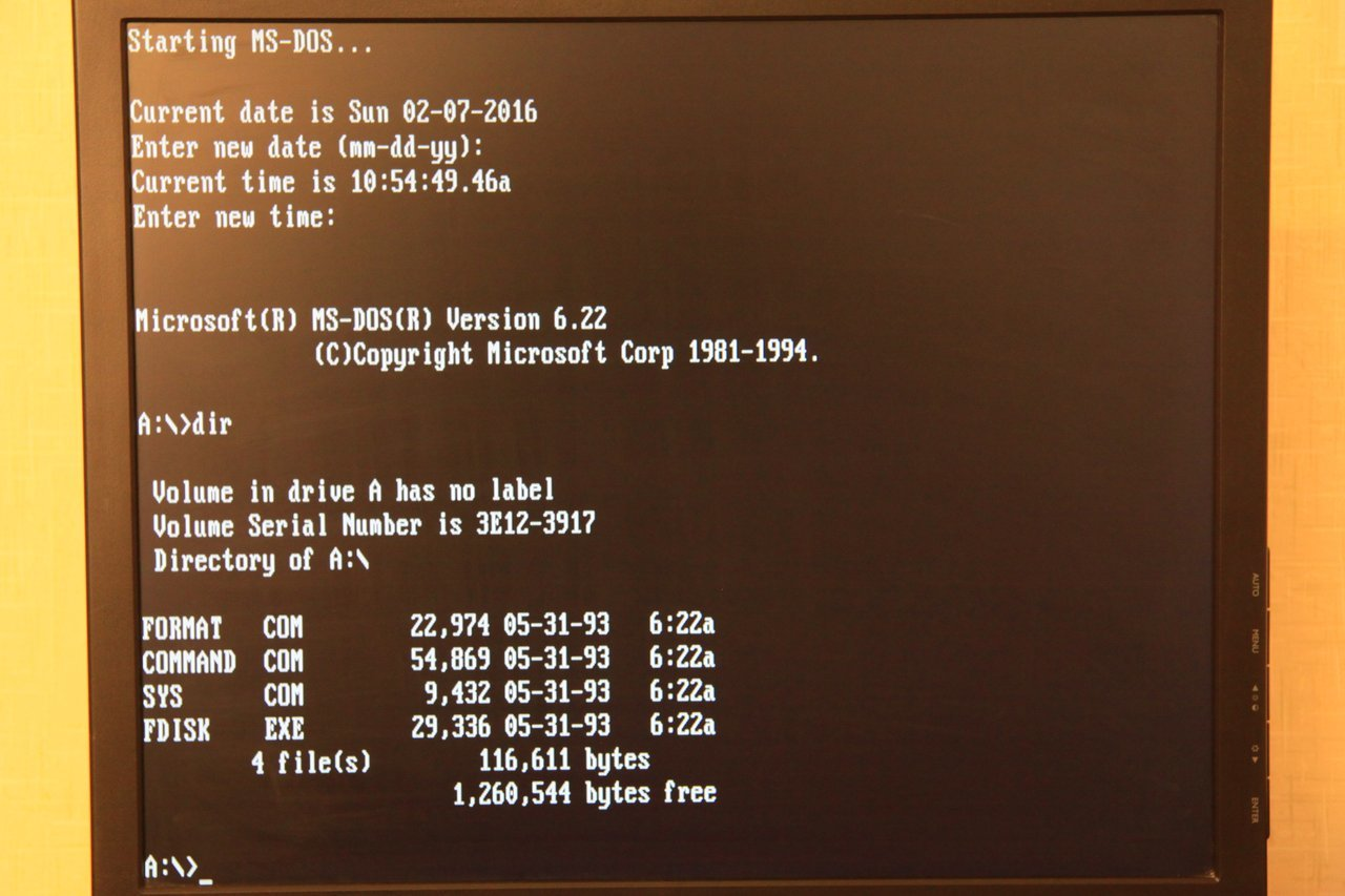 Запускаем DOS игры на тонком клиенте HP Compaq t5520 2006 года выпуска - 19
