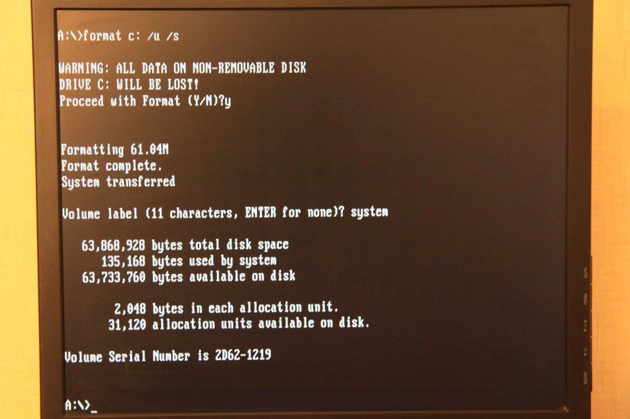 Запускаем DOS игры на тонком клиенте HP Compaq t5520 2006 года выпуска - 20