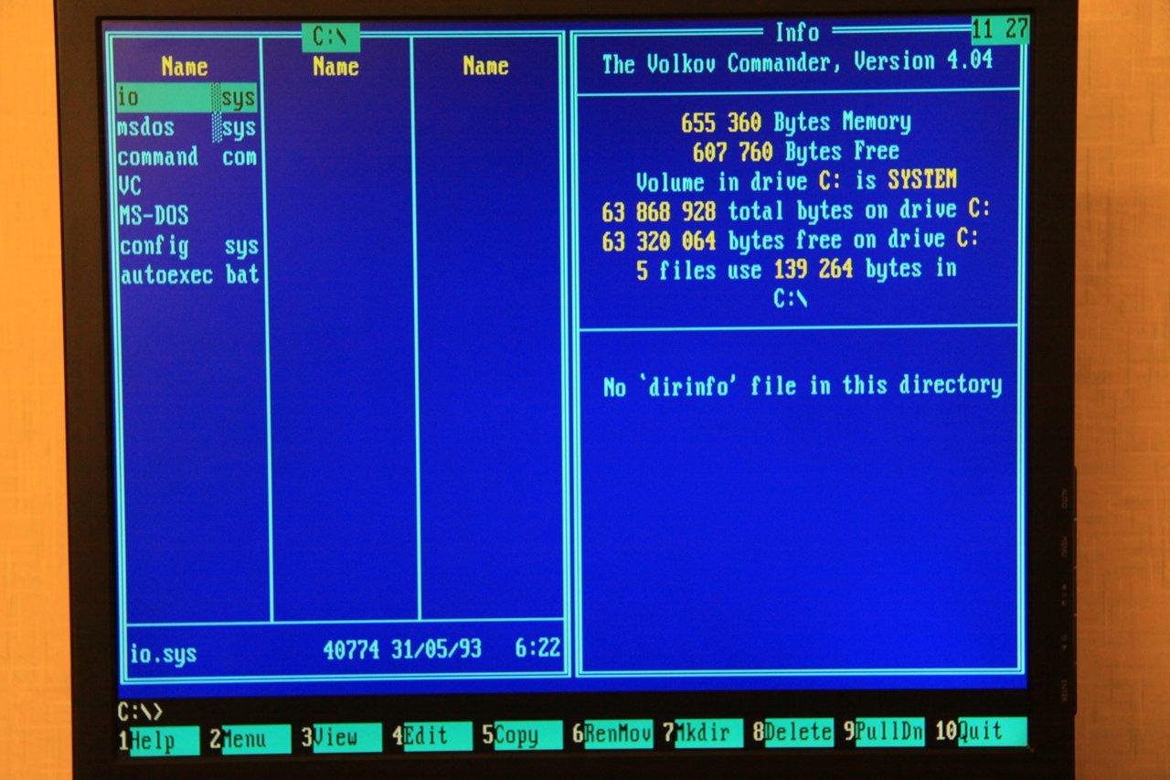 Запускаем DOS игры на тонком клиенте HP Compaq t5520 2006 года выпуска - 21