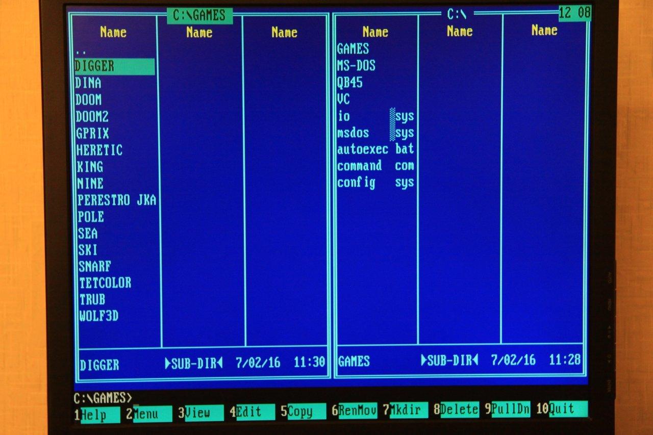 Запускаем DOS игры на тонком клиенте HP Compaq t5520 2006 года выпуска - 26