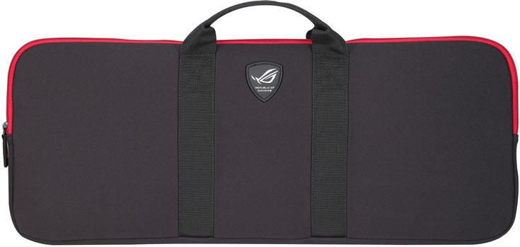 В комплект Asus ROG Horus GK2000 входит сумка для транспортировки