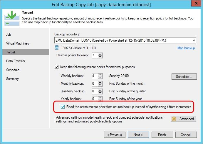 Что нового в Veeam Backup & Replication 9.0: повышаем эффективность создания и хранения резервных копий - 10