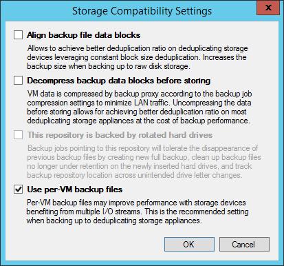 Что нового в Veeam Backup & Replication 9.0: повышаем эффективность создания и хранения резервных копий - 5
