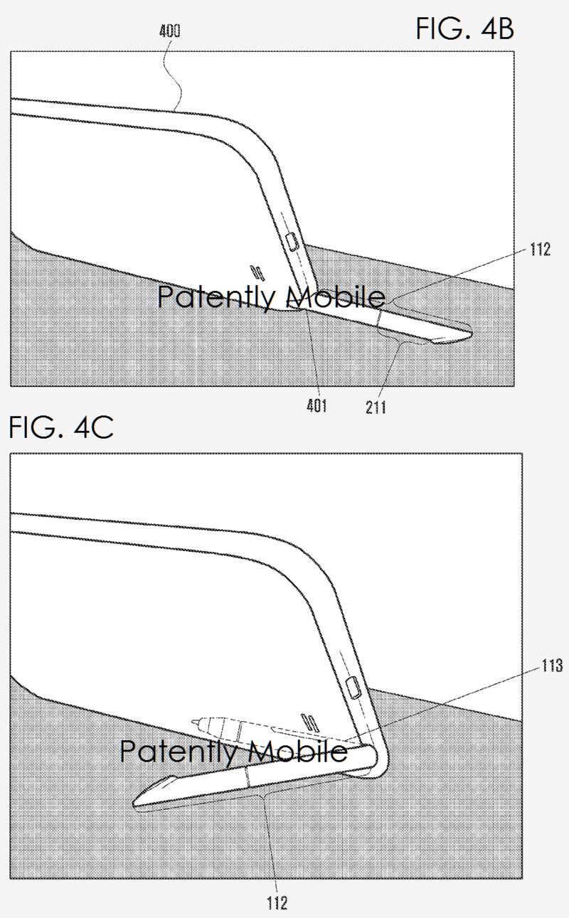 Перо в новых устройствах Samsung Galaxy Note, возможно, также будет выполнять роль подставки
