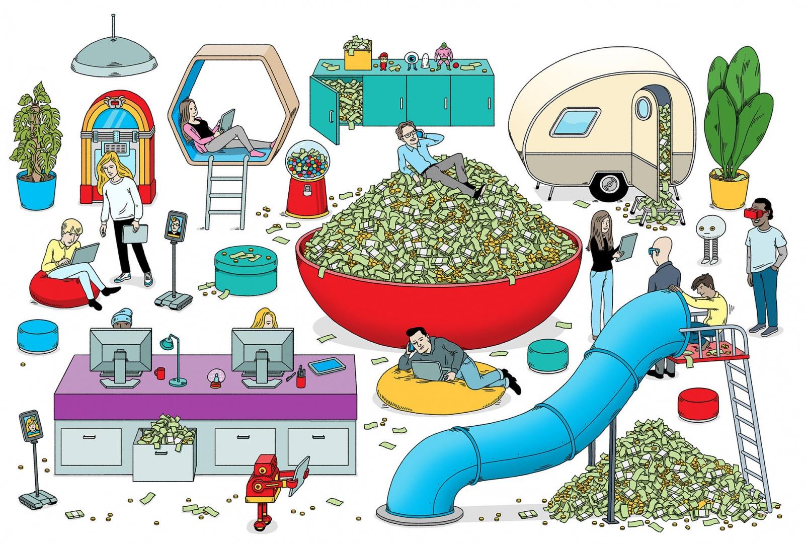 Зачем крупные корпорации копят триллионы долларов? - 2