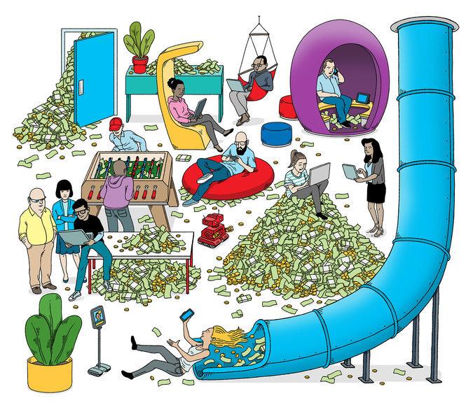 Зачем крупные корпорации копят триллионы долларов? - 1