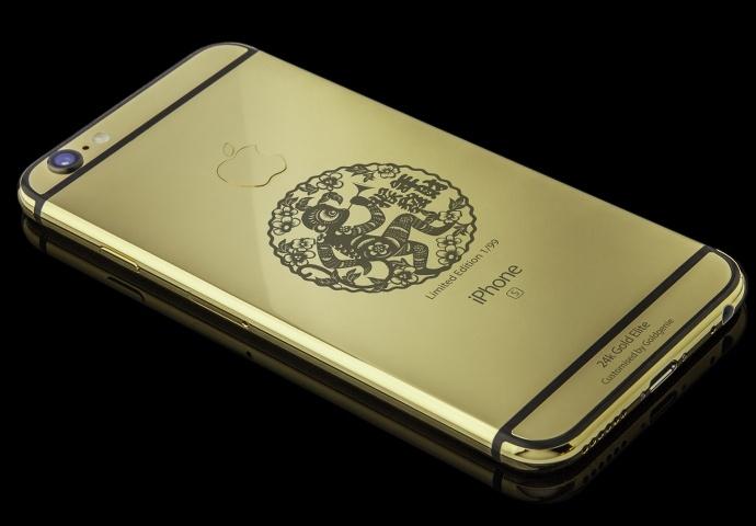 Goldgenie предлагает золотой iPhone 6s по цене от $3600