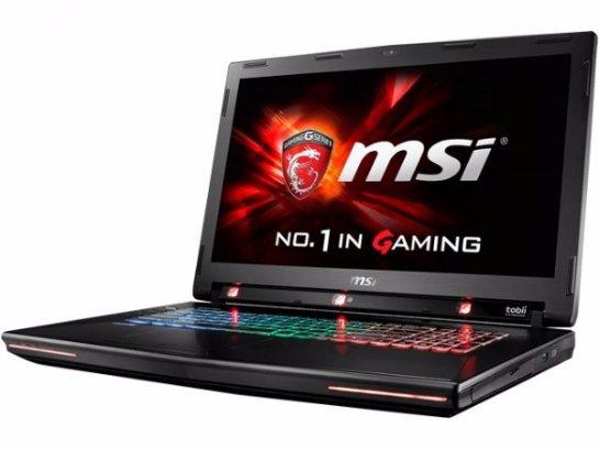 MSI GT72S G Tobii-  игровой ноутбук, которым можно управлять с помощью взгляда