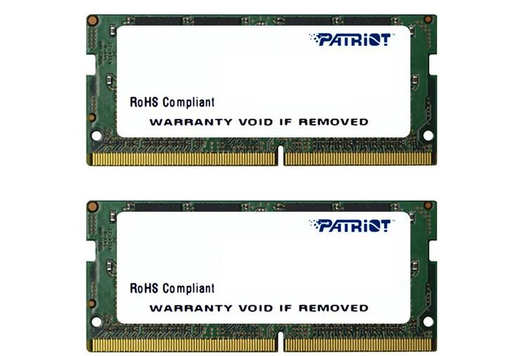 Patriot выпустила ОЗУ для новых ПК Intel NUC