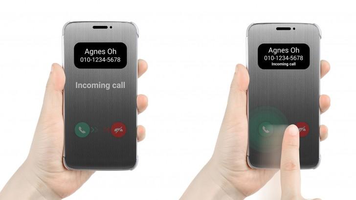 LG уже показала фирменный чехол Quick Cover для еще неанонсированного смартфона LG G5