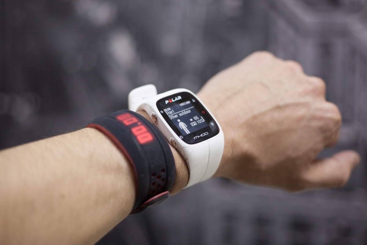 Спорт vs фитнес: Fitbit Charge HR и Polar M400 - 13
