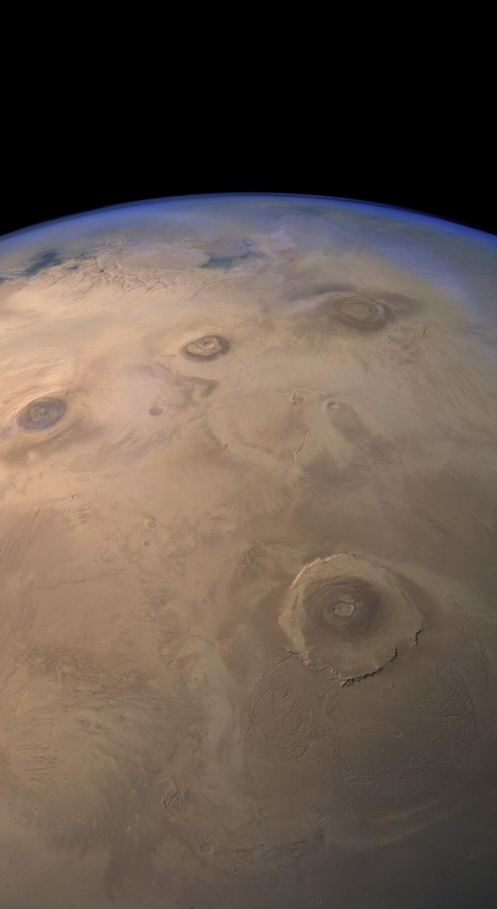 Взгляд на Марс от Mars Express - 2