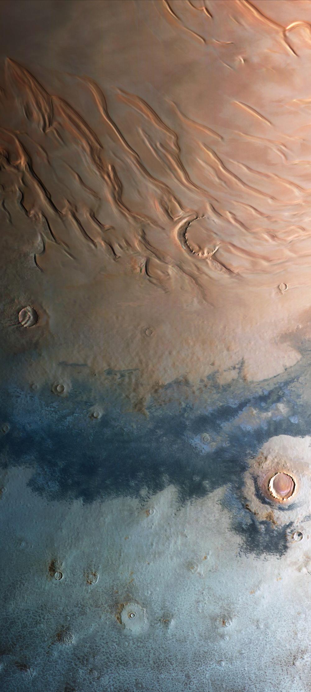 Взгляд на Марс от Mars Express - 4