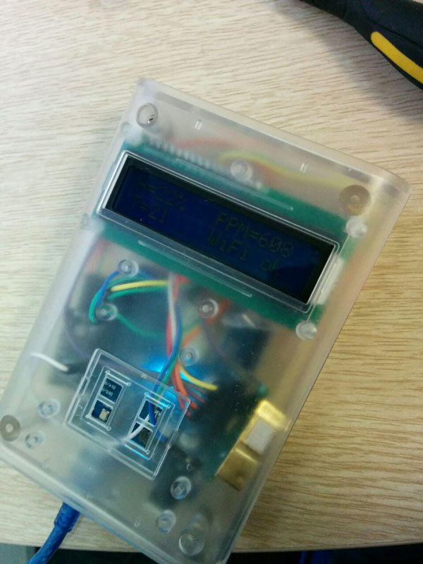Ещё один способ определения качества воздуха на Arduino — с передачей данных в сеть - 7