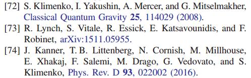 Гравитационные волны обнаружены с помощью компьютерной программы Сергея Клименко - 1
