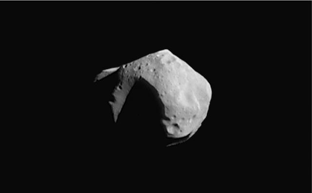 15 лет первому контакту земного аппарата с астероидом - 3