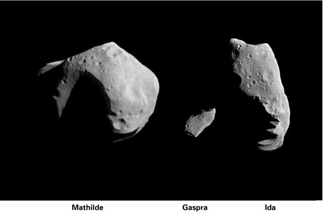 15 лет первому контакту земного аппарата с астероидом - 4