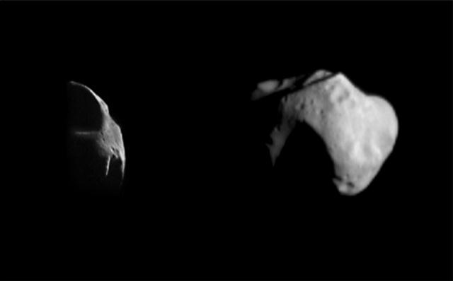 15 лет первому контакту земного аппарата с астероидом - 6
