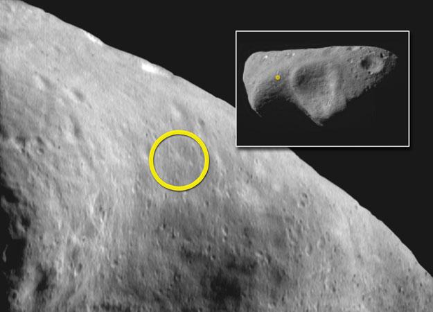 15 лет первому контакту земного аппарата с астероидом - 9
