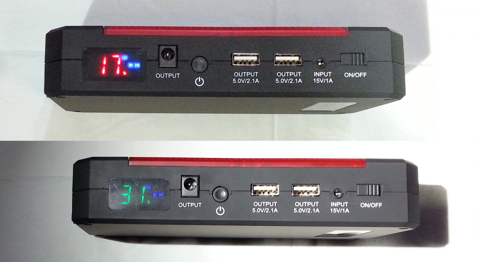 Заряд на любой случай жизни или пусковое устройство V5 Car Jump Starter 21000mah - 25