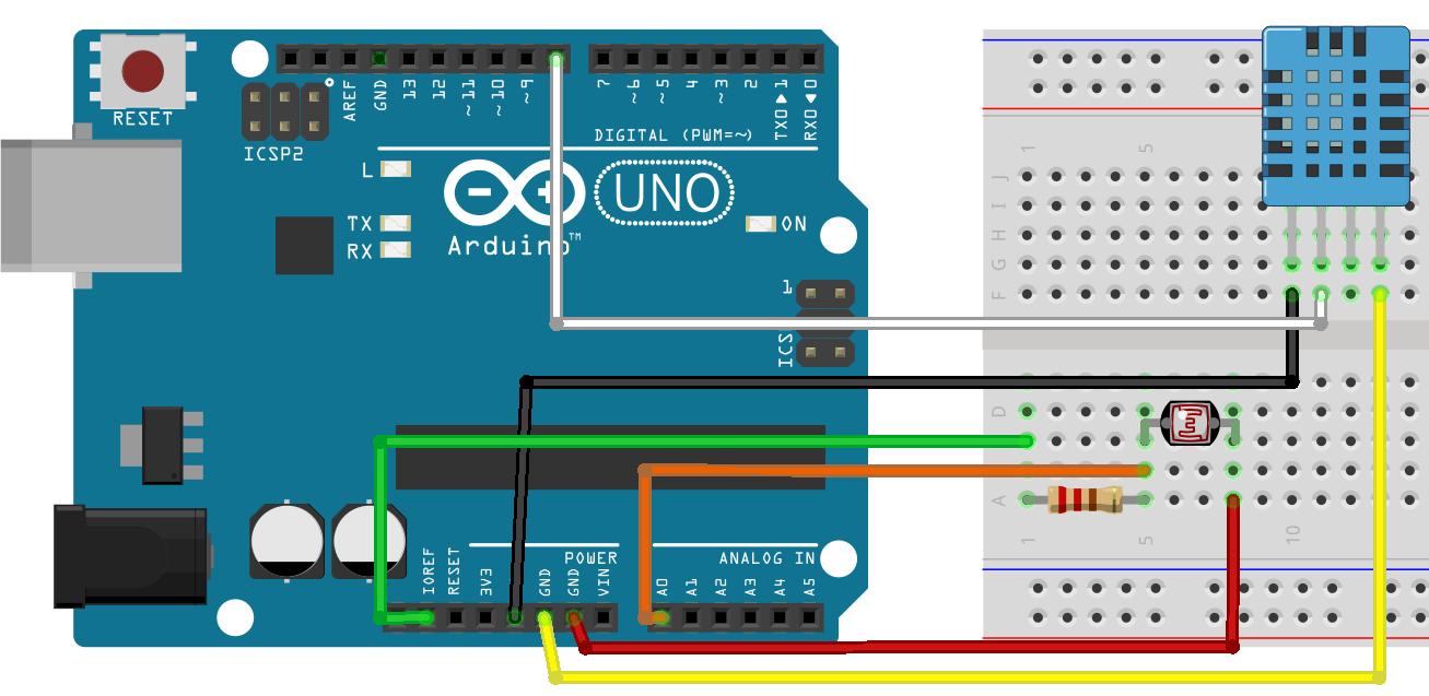 Метеостанция на Arduino с визуализацией данных - 4