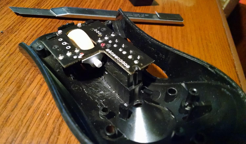 Модернизация мыши — добавление наклонов колеса, замена электроники - 10