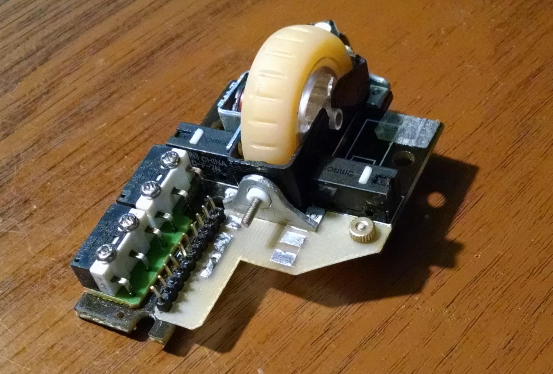 Модернизация мыши — добавление наклонов колеса, замена электроники - 11