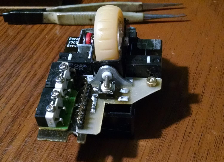 Модернизация мыши — добавление наклонов колеса, замена электроники - 12
