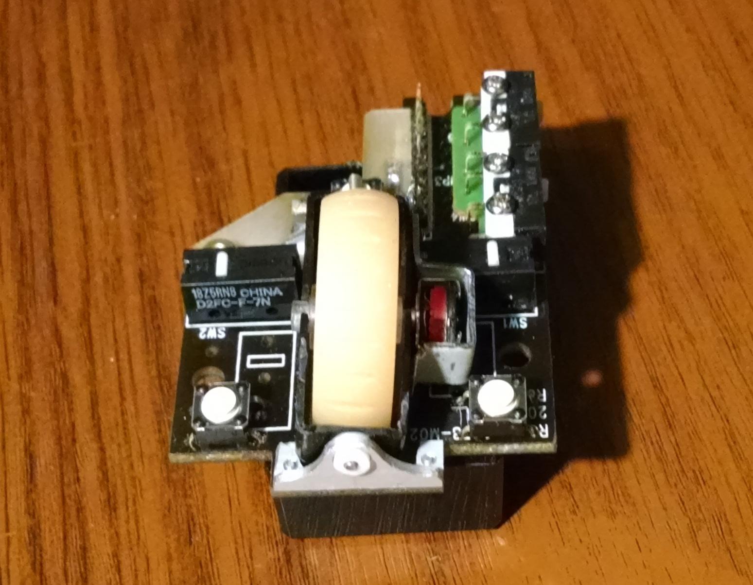 Модернизация мыши — добавление наклонов колеса, замена электроники - 13