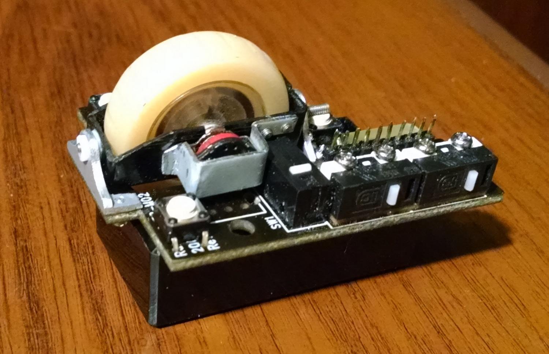 Модернизация мыши — добавление наклонов колеса, замена электроники - 14