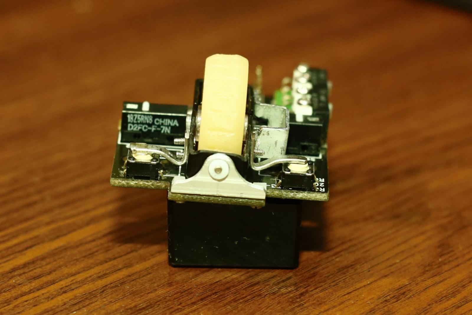 Модернизация мыши — добавление наклонов колеса, замена электроники - 15