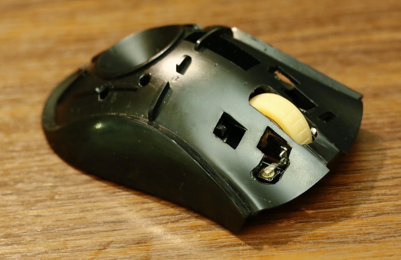 Модернизация мыши — добавление наклонов колеса, замена электроники - 17