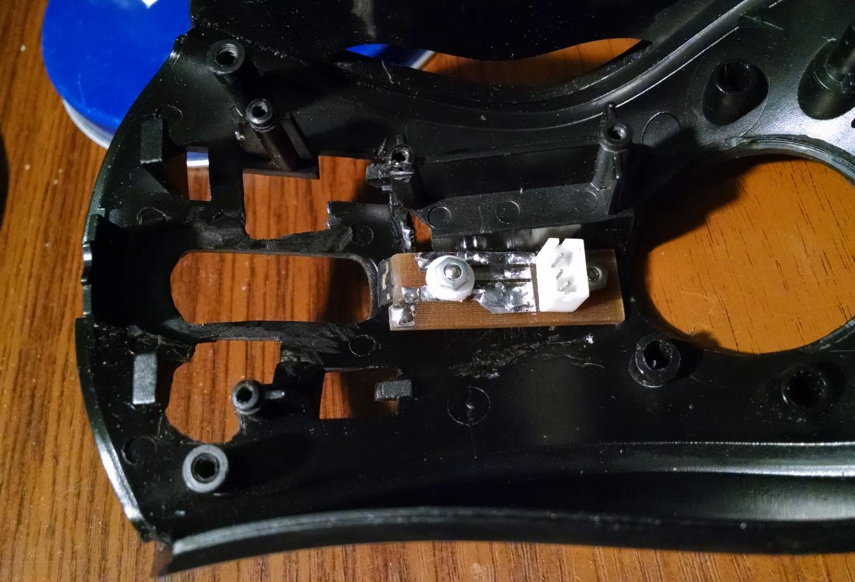 Модернизация мыши — добавление наклонов колеса, замена электроники - 20