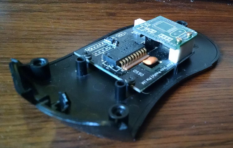 Модернизация мыши — добавление наклонов колеса, замена электроники - 23