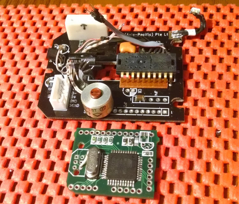 Модернизация мыши — добавление наклонов колеса, замена электроники - 24