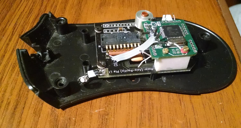 Модернизация мыши — добавление наклонов колеса, замена электроники - 25