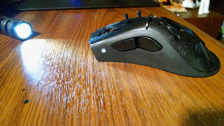 Модернизация мыши — добавление наклонов колеса, замена электроники - 27