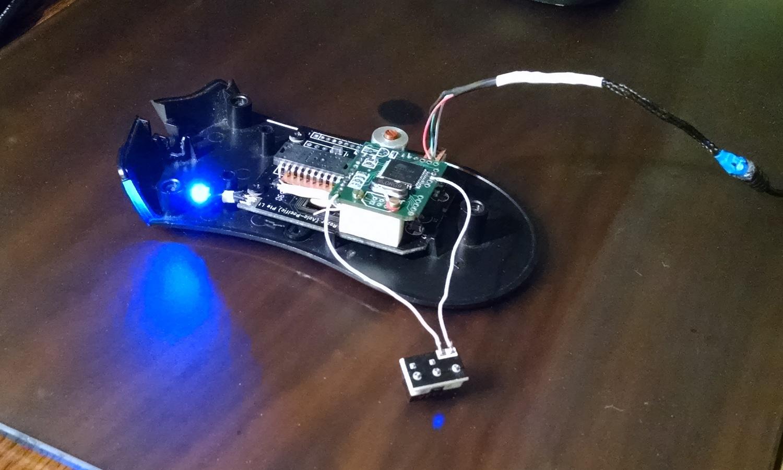Модернизация мыши — добавление наклонов колеса, замена электроники - 28