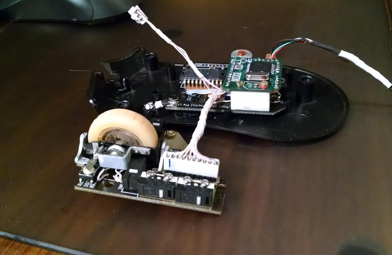 Модернизация мыши — добавление наклонов колеса, замена электроники - 29